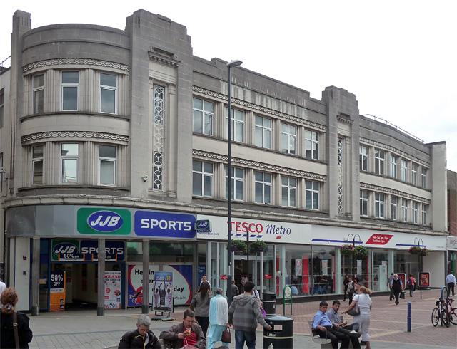 7-11 St Peter's Street, Derby