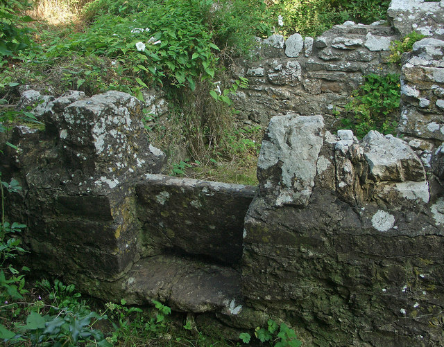 Stile at St David's Well, Nottage