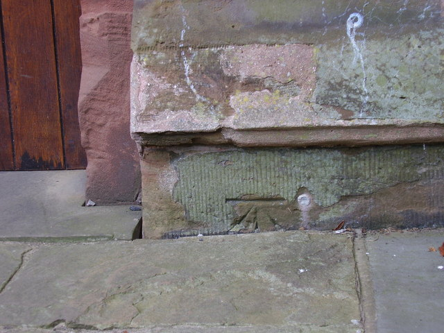 Benchmark on Erdington Abbey