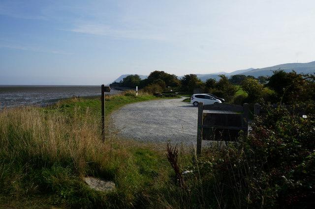 Car park near Aber Ogwen