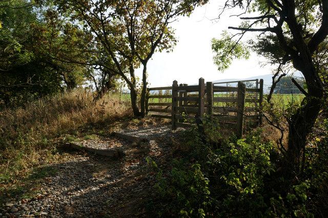 Stile near Glan-y-môr-isaf