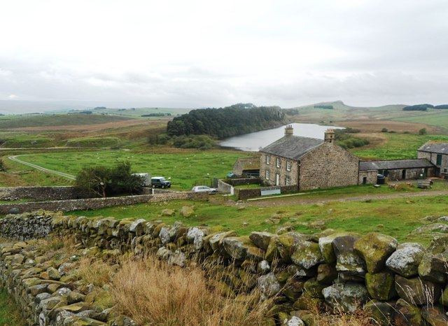 Hotbank Farm from Hadrian's Wall Path