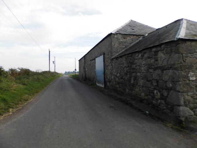Unclassified road beside Craigmill Farm
