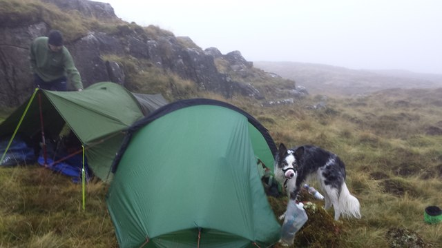 Wild camp in the Northern Rhinogs