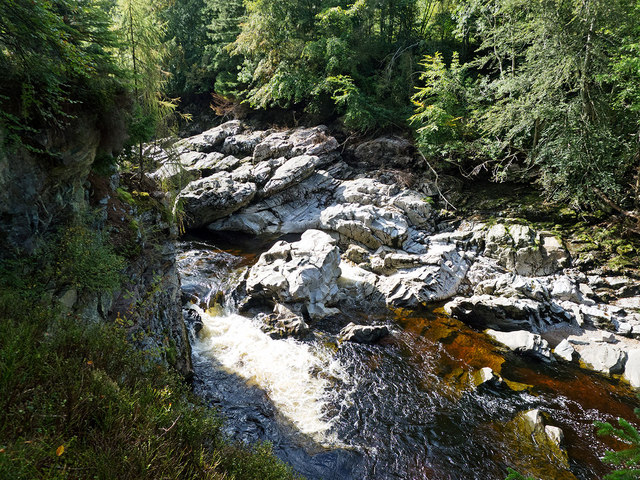 Falls in the Findhorn