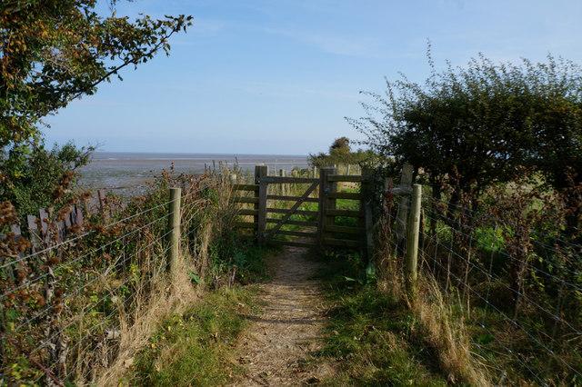 Wales  Coast Path at Pencoed