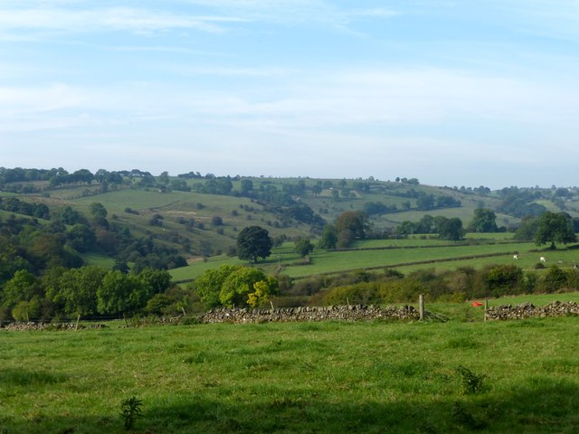 The valley of Warslow Brook