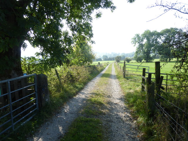 Footpath & track south of Warslow