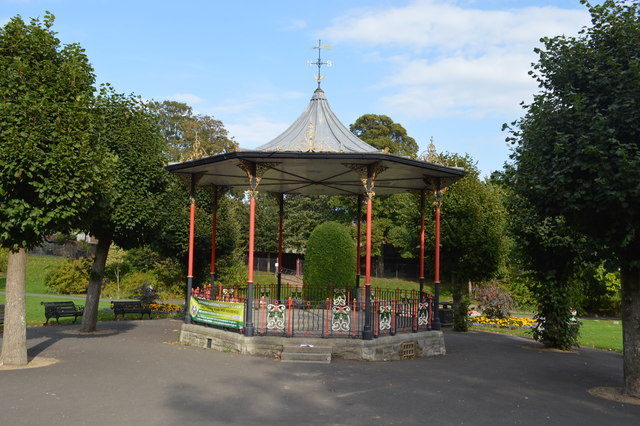 Bandstand in Borough Gardens