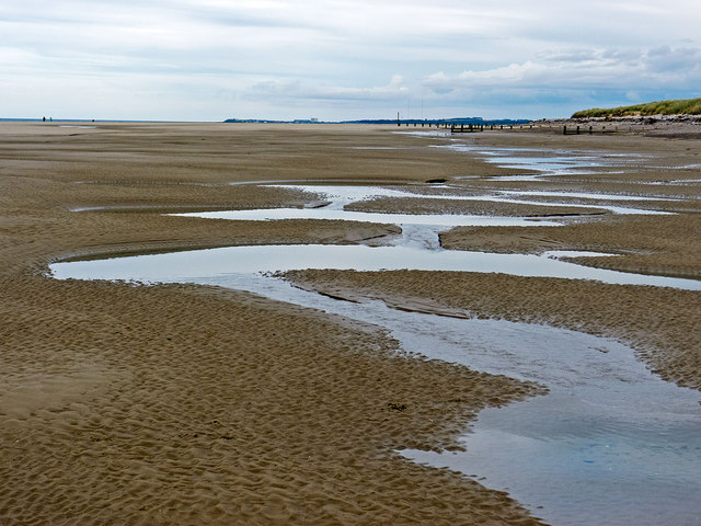 Sand at Findhorn
