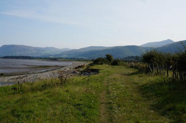 Wales  Coast Path towards Morfa Aber