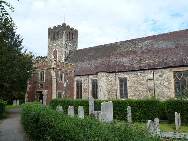 Tottenham, All Hallows church