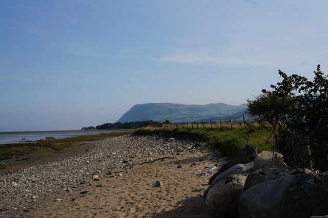 Wales  Coast Path towards Morfa Aber