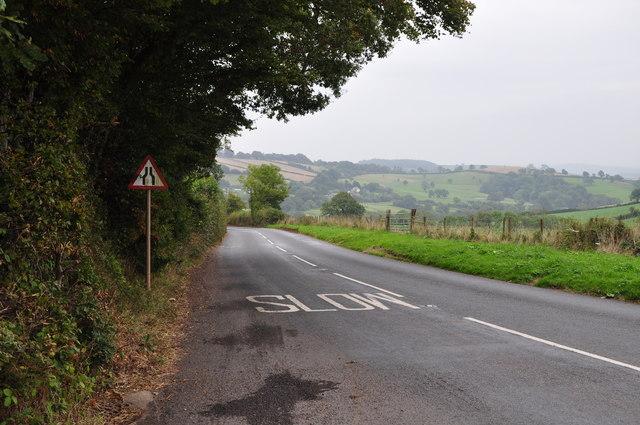 Mid Devon : The A3072