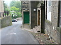 SE0125 : Hall Bank Lane, Mytholmroyd by Humphrey Bolton
