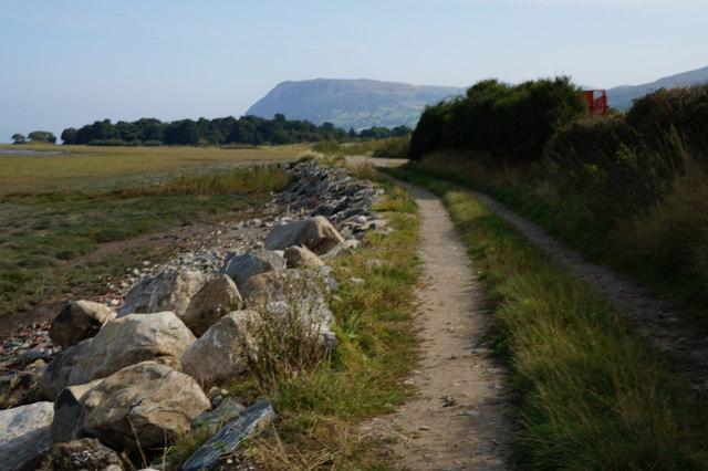 Wales  Coast Path near Cwrtiau