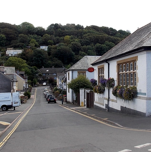 South along Burvill Street, Lynton