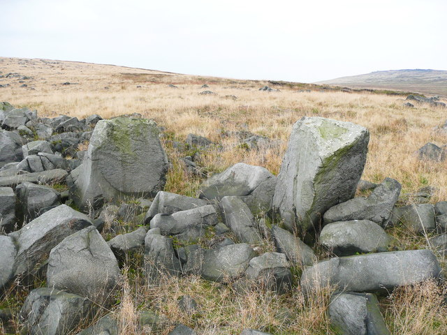 Stones on Little Hoar Edge