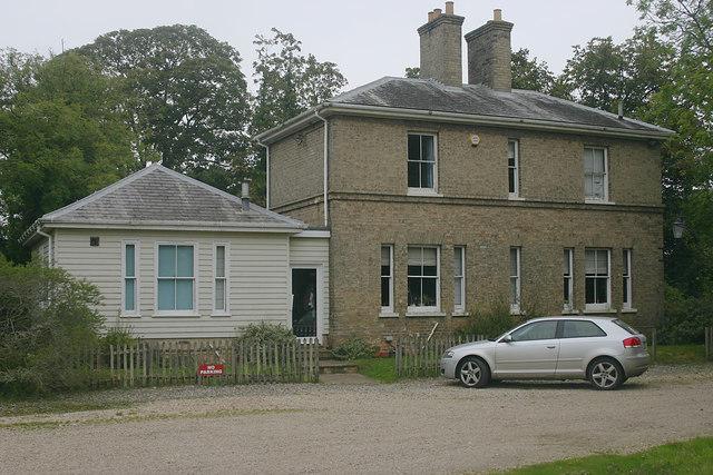 Former station house, Snape