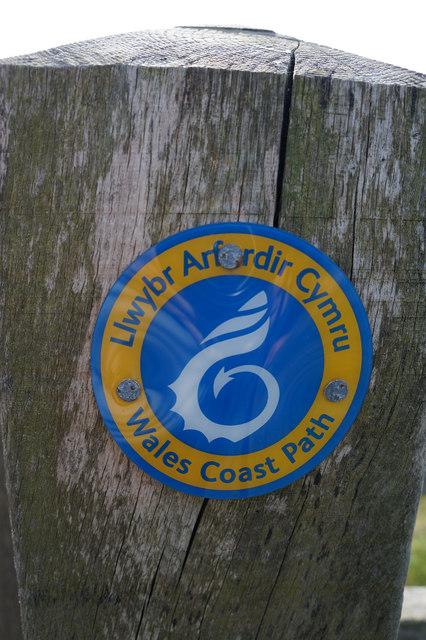 Wales  Coast Path marker