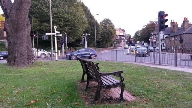 Roadside bench