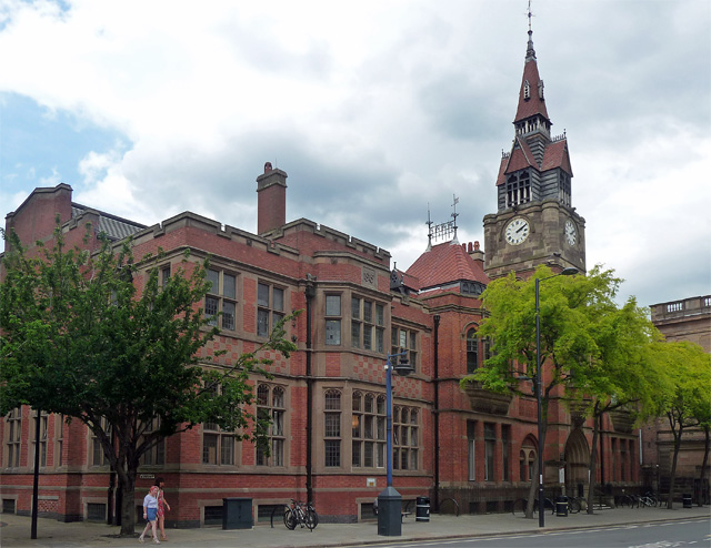 Library and Museum, Wardwick, Derby