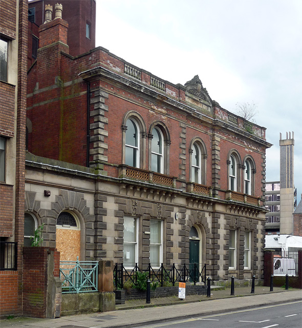 Former education annexe, Becket Street, Derby