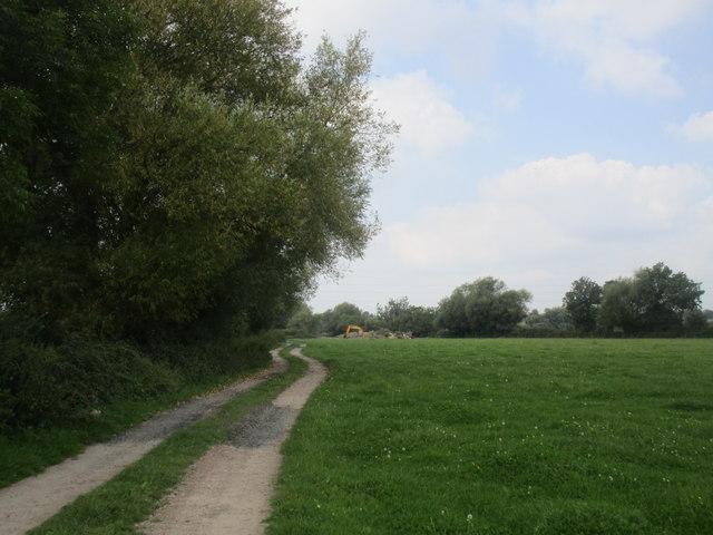 Approaching Minsterworth