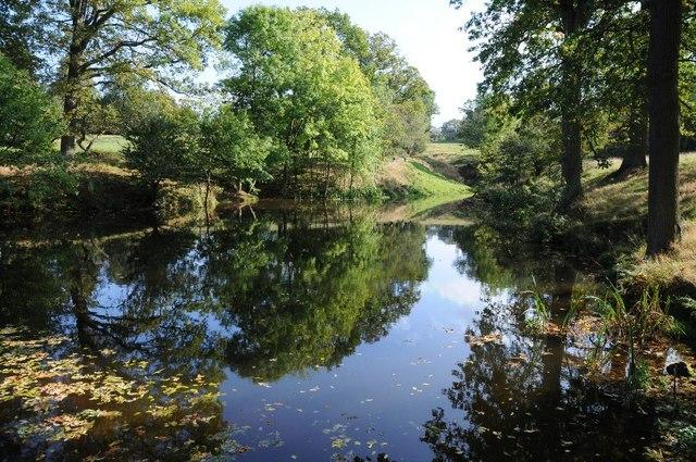 Pool in Hagley Park