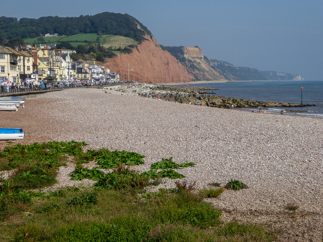 The Beach on Sidmouth Seafront, Devon