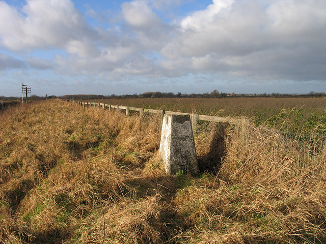 Trig point at Poppleton