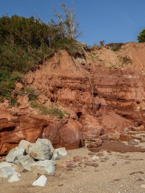 Cliffs, Sidmouth, Devon