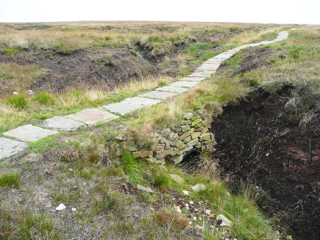 Culvert under the Pennine Way