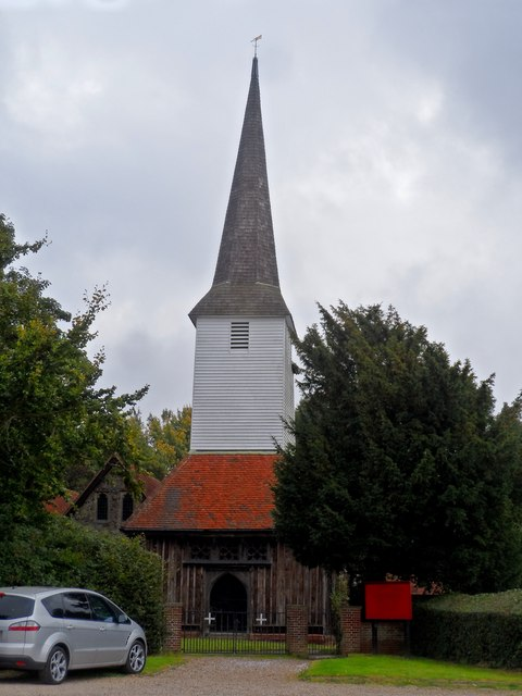 All Saints' church, Stock