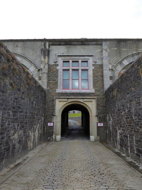 The inner archway of Crownhill Fort