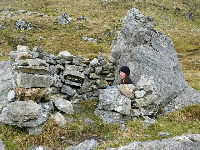 Shelter at the bealach