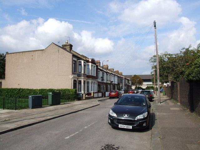 Grenadier Street, North Woolwich