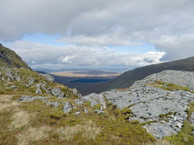 On the SE Ridge of Sgurr Breac