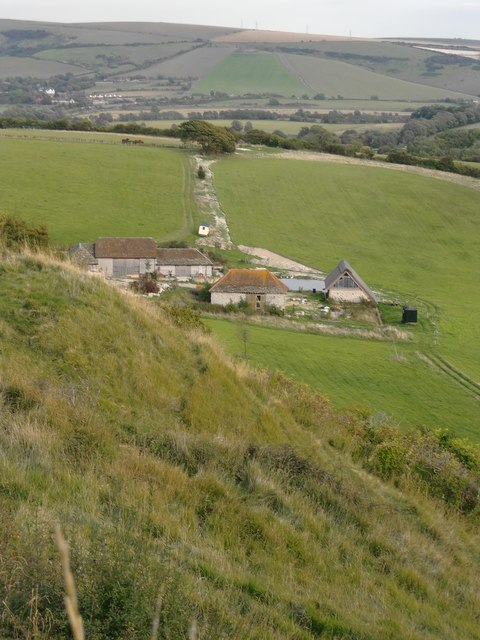 Steyning Round Hill, southern flank