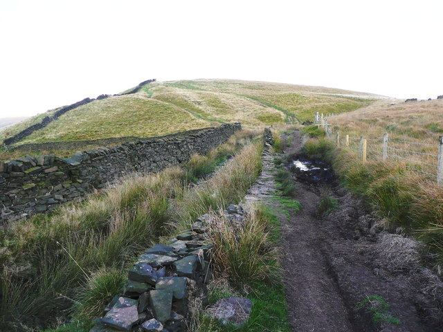 A bad section of bridleway