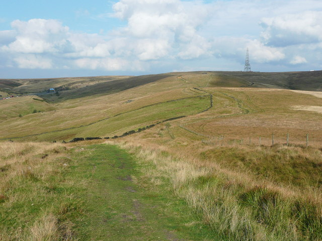 Bridleway along the Windy Hills ridge