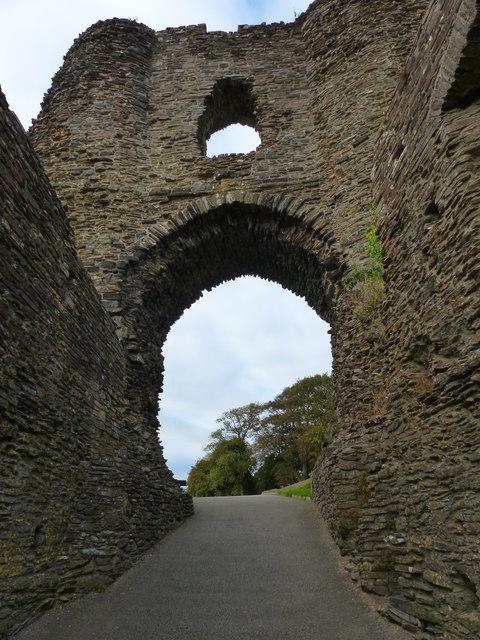 Entrance to Launceston Castle