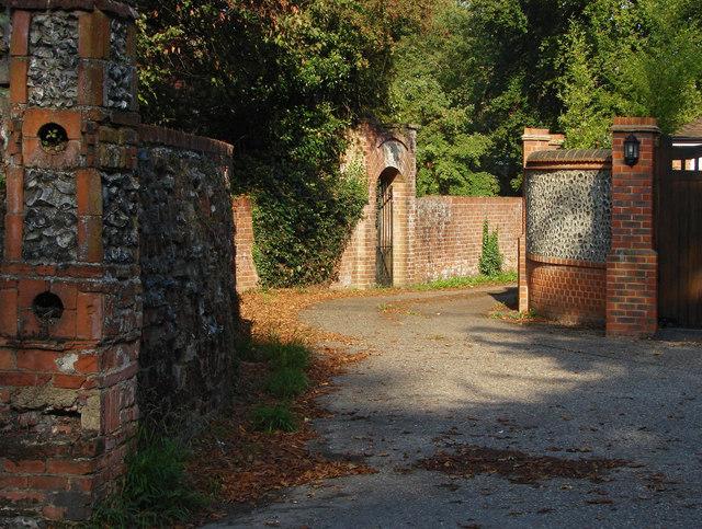 Access road, East Horsley
