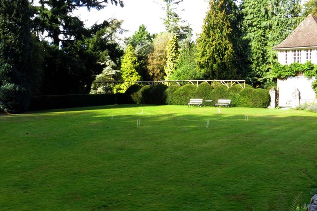 The croquet lawn at Nuffield Place