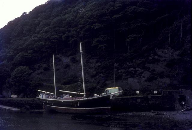 Garlandstone at Porth Aberamffra Harbour