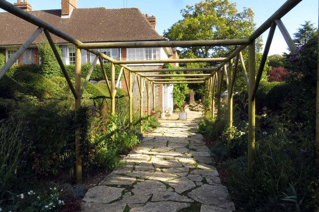 Garden path at Nuffield Place