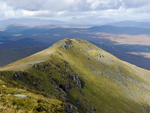 The North Ridge of A' Chailleach