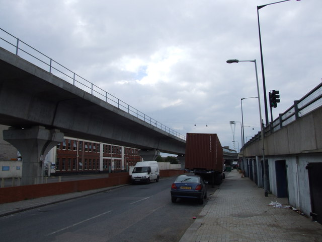 North Woolwich Road, Silvertown