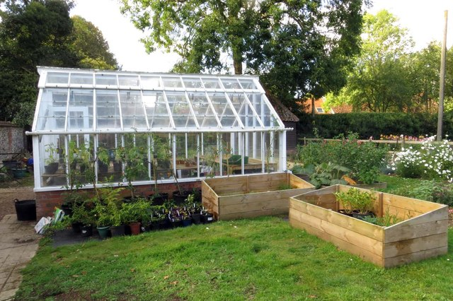 Greenhouse at Nuffield Place