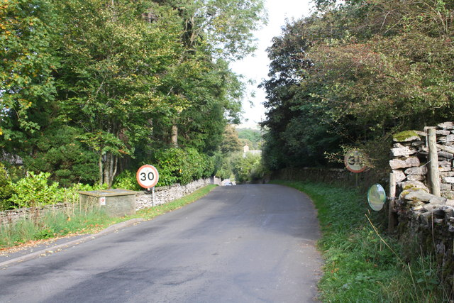 Road into Ravenstonedale from Coldbeck